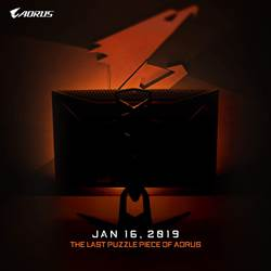 技嘉首款AORUS電競顯示器1/16發表