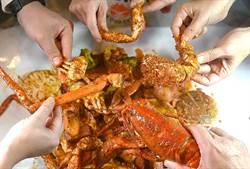 獨家》信義區最狂手抓海鮮餐廳 Dancing Crab搶頭香