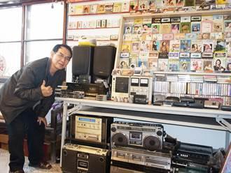 蒐集數千捲卡式錄音帶 吳修明用音樂記錄歷史