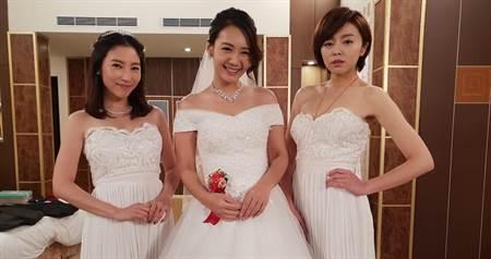 《大時代》八點檔女星披婚紗    預習當新娘