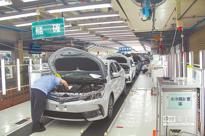 圖為台灣國瑞汽車生產線。(圖/業者提供)