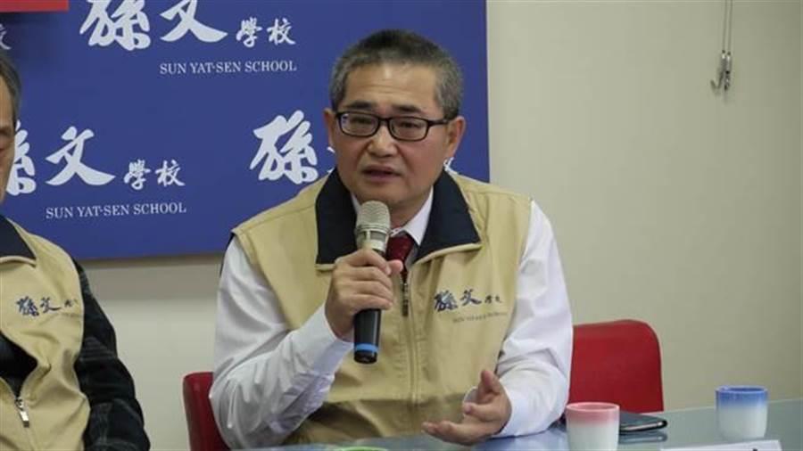文化大學政治系教授林忠山。(中時資料照)