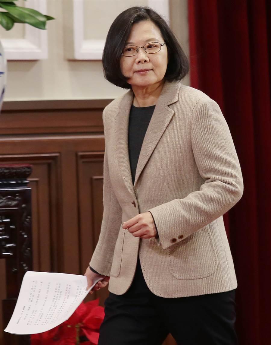 總統蔡英文。(圖/本報資料照,姚志平攝)