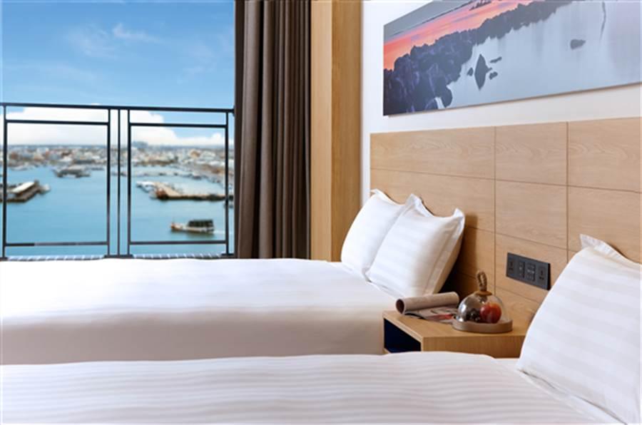 澎湖昇恆昌澎澄飯店。圖:華信提供