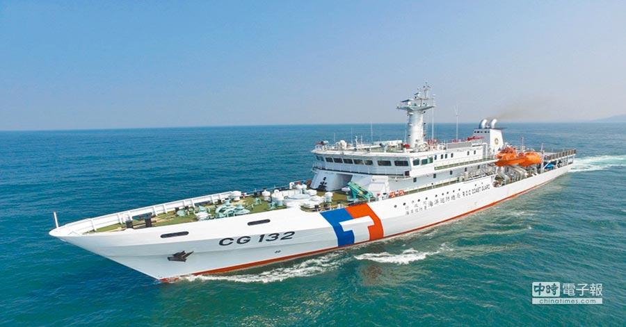 海巡署派遣桃園艦救援,預計最快今天凌晨可抵達。(取自海巡署官網)