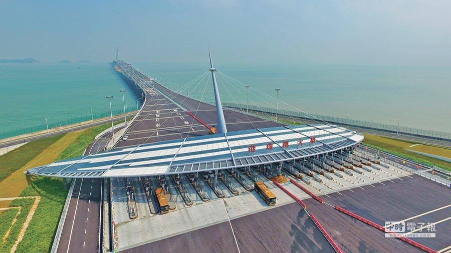 2018年10月24日,港珠澳大橋全線通車營運。(新華社)