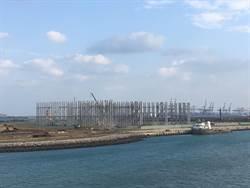 臺北港與全球綠色能源趨勢接軌,世紀風電進駐,成為我國離岸風電產業重鎮