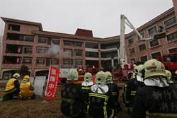 提升救災效率 新竹縣消防局護理之家模擬演練