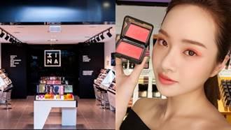 色票彩妝席捲全台 3INA首家形象旗艦店登陸西門町!