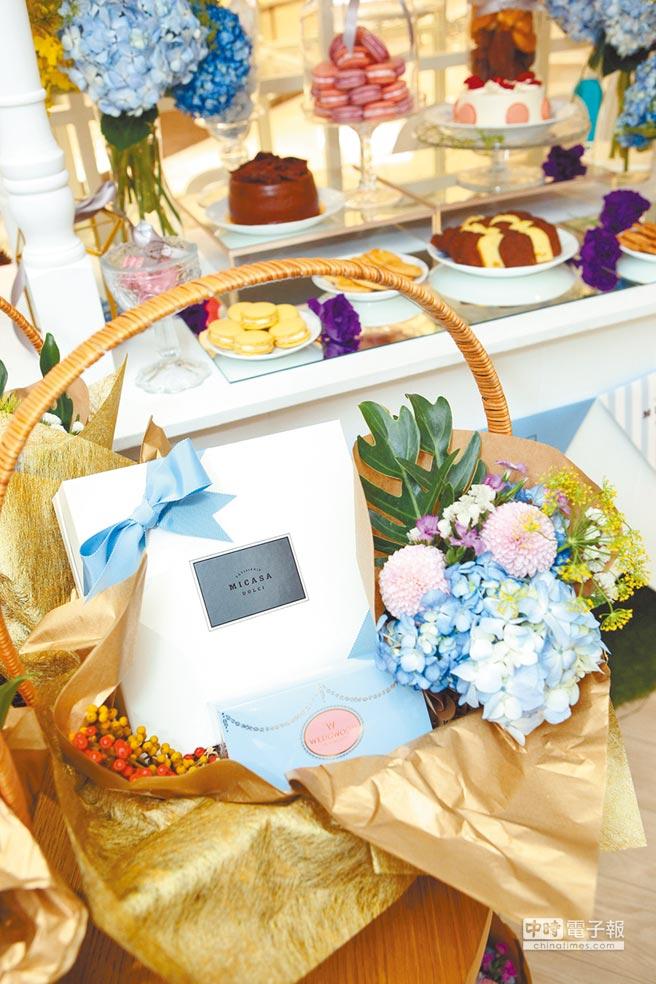 「花見幸福」限量禮盒。(CHIN CHIN公關提供)
