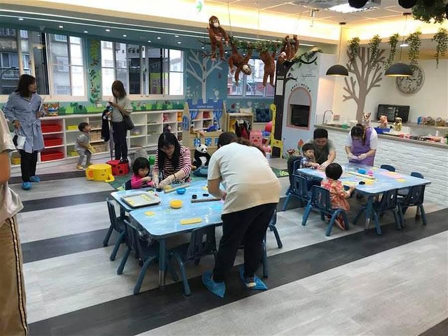 林板新特區內的公共托育中心已正式開幕。(圖/新板巨星提供)