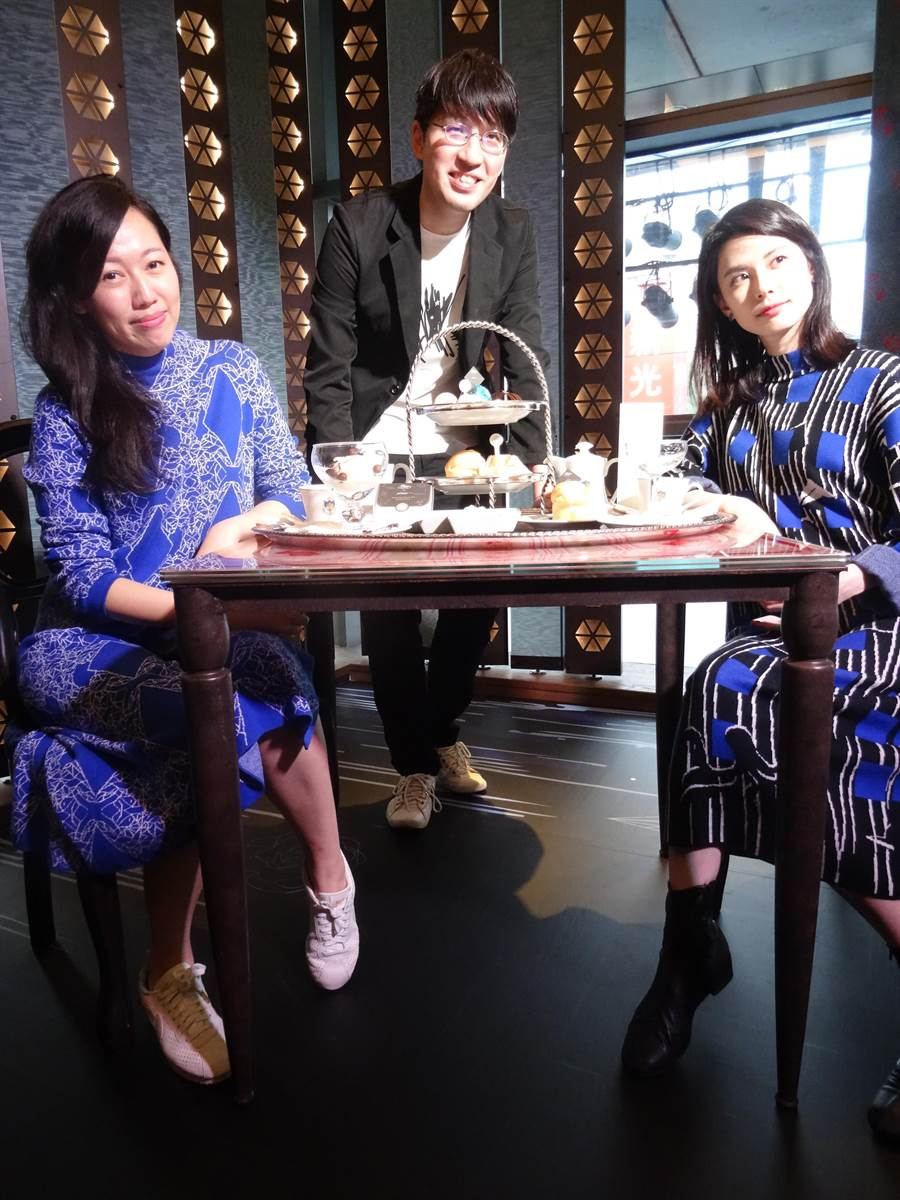 APUJAN 將與 Caffé Florian 福里安花神咖啡推出聯名合作下午茶「 Florian x APUJAN 威尼斯星河漫遊」。(馮惠宜攝)