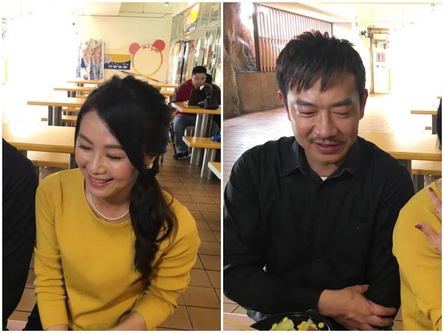 江俊翰和陳妍安。(洪秀瑛攝)