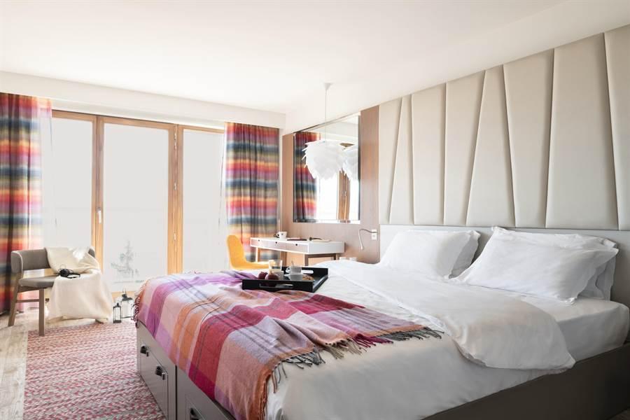萊薩爾克度假村的豪華套房。(Club Med提供)