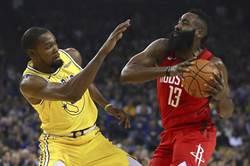 NBA》官方MVP榜哈登強勢攻頂 詹皇跌出前5