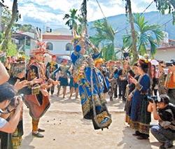 南島族群婚禮 盪鞦韆鮮體驗