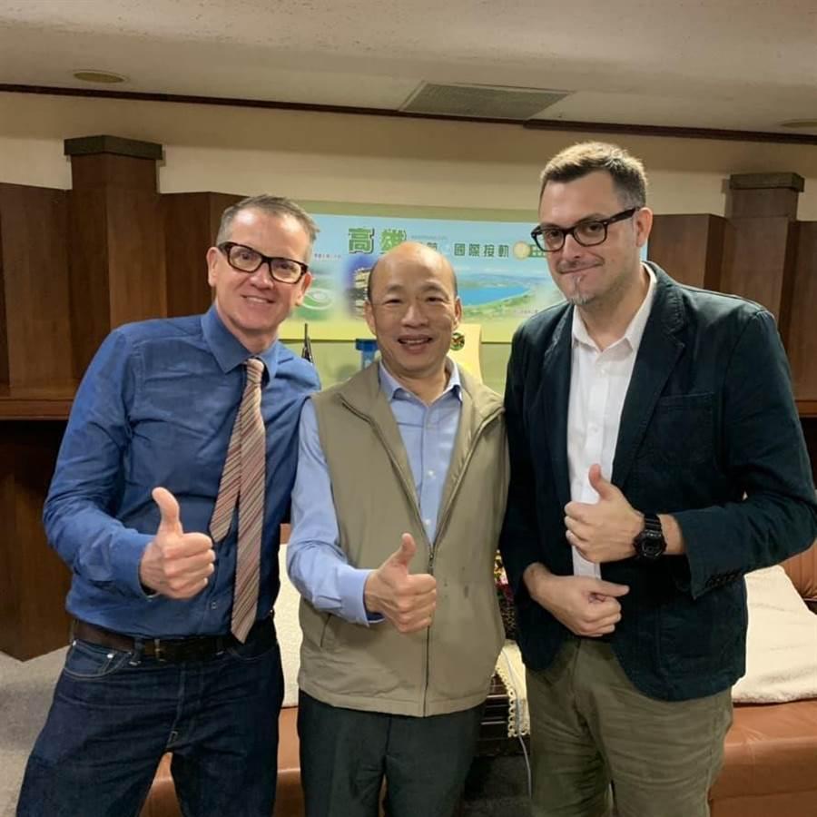 ▲韓國瑜接受ICRT專訪。(圖/取自ICRT)