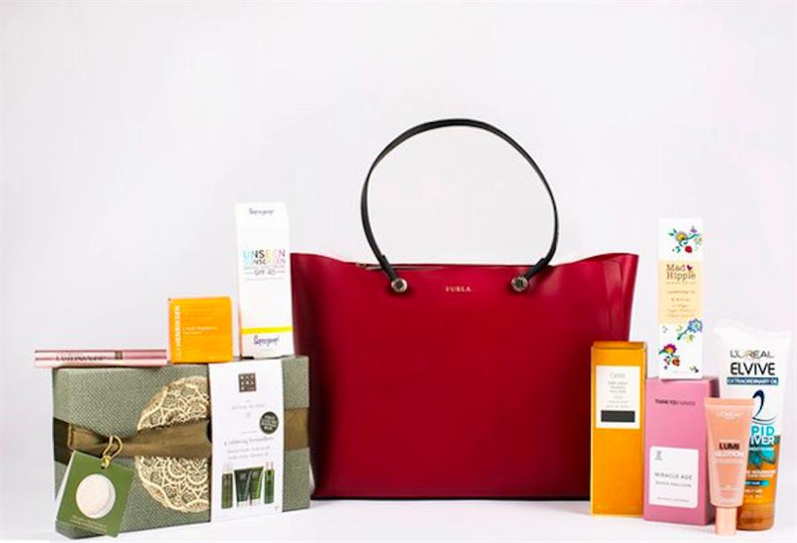 「InStyle」提供的女性禮物袋。(翻攝自InStyle)