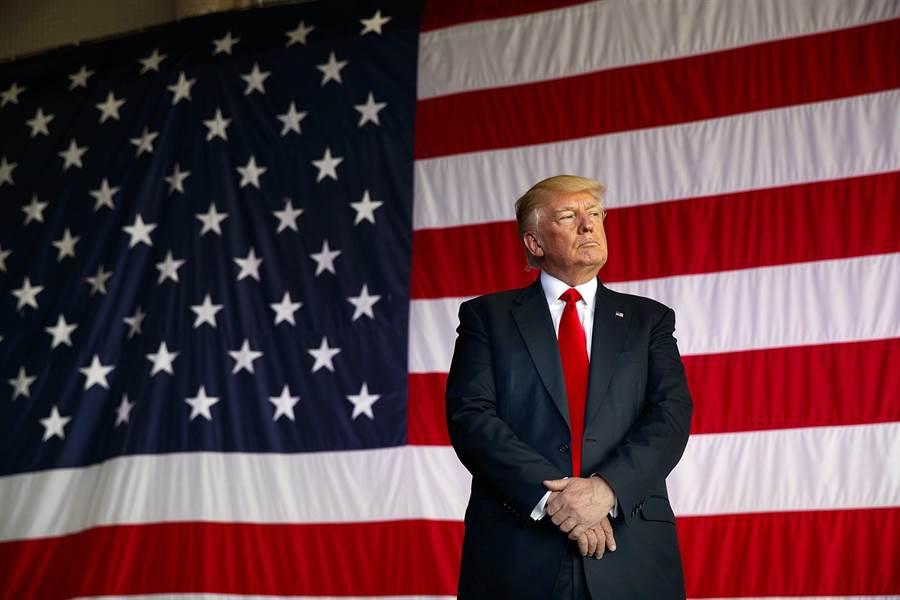 美国总统川普。(图/美联社)