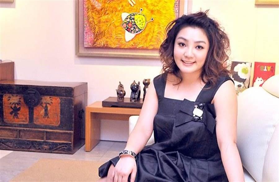 前中國小姐凌葳威。(本報系資料照)