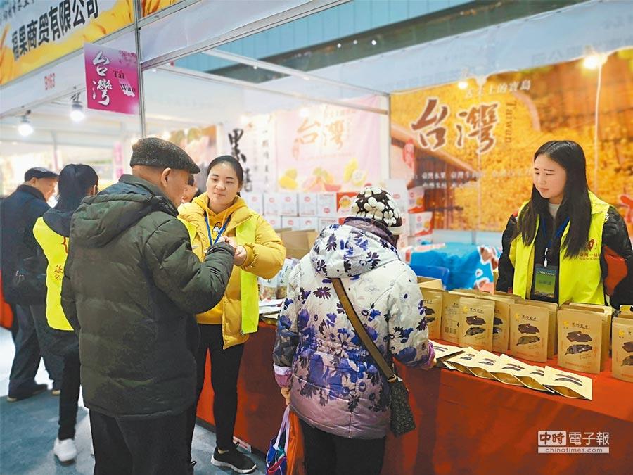 中美貿易戰會惡化兩國總福利水準,圖為2018年12月廣西農業博覽會。(中新社)