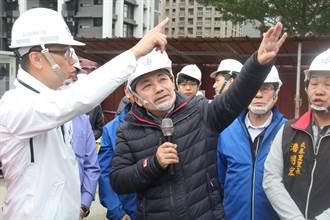 視察五股國民運動中心工程 侯友宜讚:比北市好