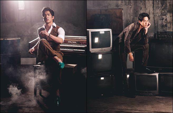 左:帥氣華裔德國男星楊銀豪;右:文青男神邱昊奇。(圖/幸星娛樂提供)