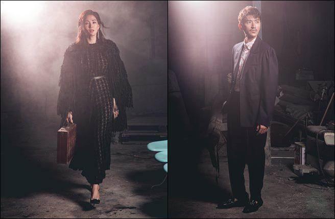 左:「最小師妹」洪小鈴;右:亞洲偶像曾少宗。(圖/幸星娛樂提供)