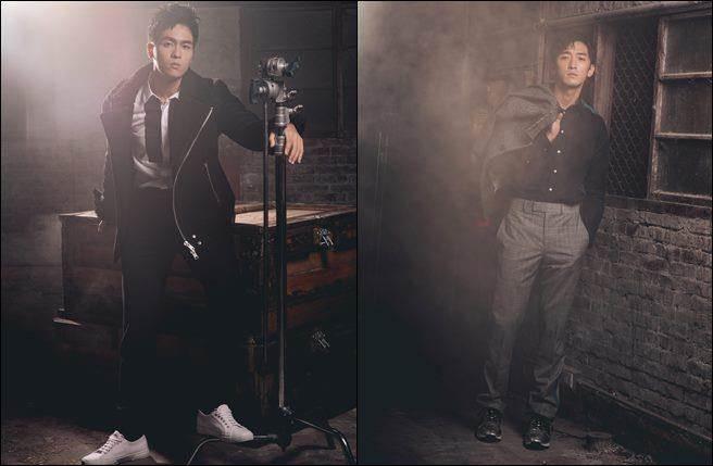 左:「金鐘新人」林孫煜豪;右:小鮮肉暖男鍾政均。(圖/幸星娛樂提供)