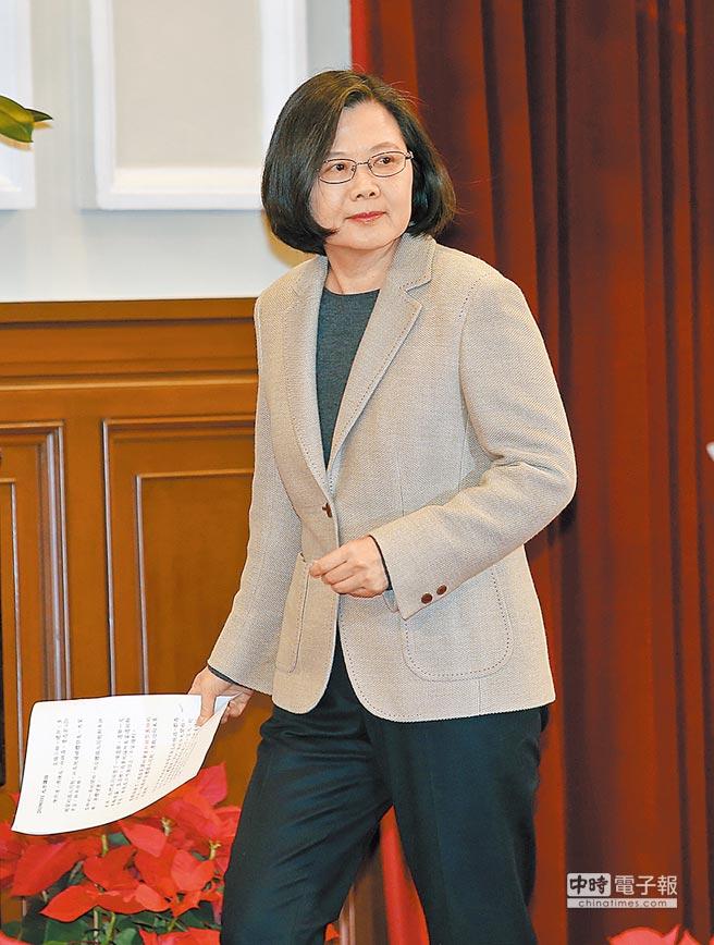 總統蔡英文圖/本報資料照片