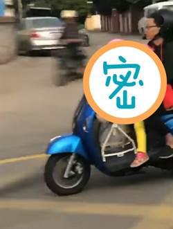 到底誰在騎車 影片瘋傳讓網友爆動
