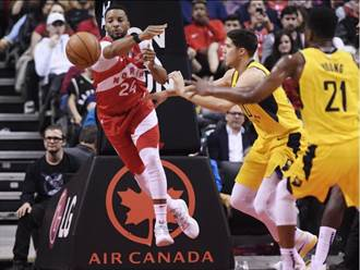 NBA》8人得分上雙 暴龍獵殺溜馬重奪聯盟第一
