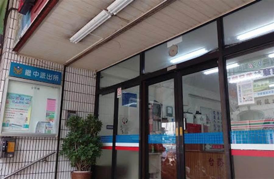 台中市繼中派出所逮捕偷酒賊,女竊嫌一派胡言讓員警哭笑不得。(圖取自Google Map)