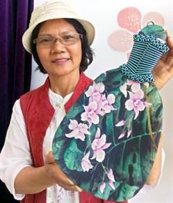 檳榔葉化身藝術品 潘雪華做檳榔扇憶童年