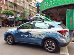 街頭偶遇Google街景車!超霸氣天藍車身美翻網友