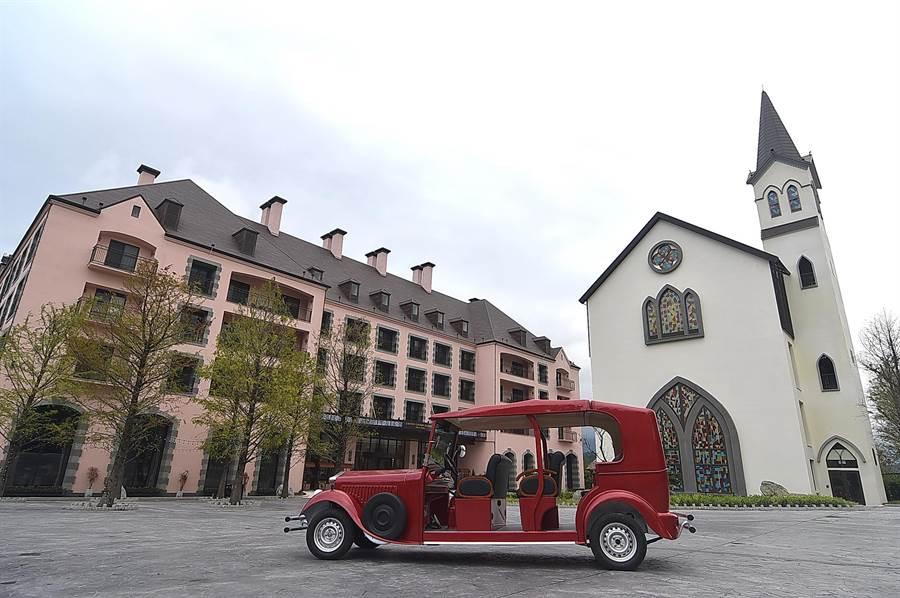 瑞穗國際春天酒店的「莊園」棟,共規畫有5種不同房型,坪數從11至27坪不等。(圖/姚舜)