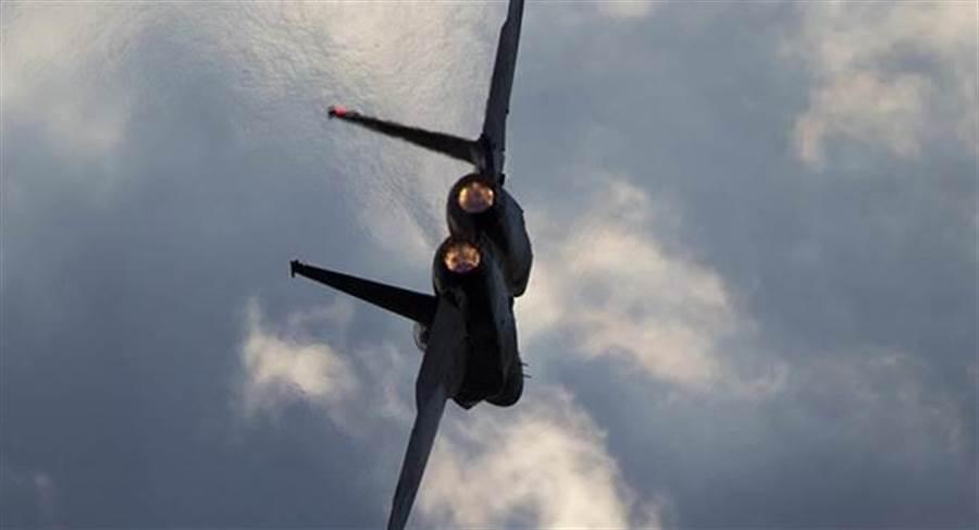 以色列F-15戰機的資料照。(美聯社)