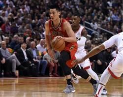 NBA》林書豪先發20分9助攻 老鷹飲恨不敵暴龍