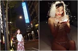 曾認陪睡!辣模窮遊台灣拍寫真 透視內衣激似全裸