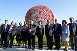 島國友邦諾魯總統訪台 盧秀燕陪同參觀花博