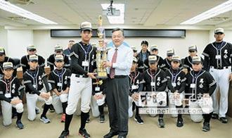 馬公國中棒球隊 巨人盃獲亞軍