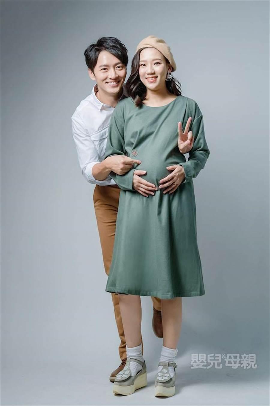 梁敏婷預產期在3月初。(《嬰兒與母親》提供)
