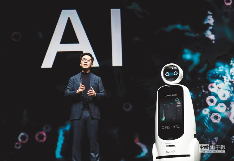 CES展中,人工智慧成為一大人氣熱點。圖/路透