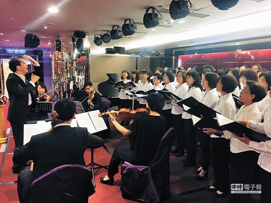 第2屆府城音樂會本周六登場,是新春獻給台灣的賀禮。(曹婷婷攝)