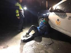 影》 隨機搶劫!苗栗男子搶奪計程車 警台9線封路逮人
