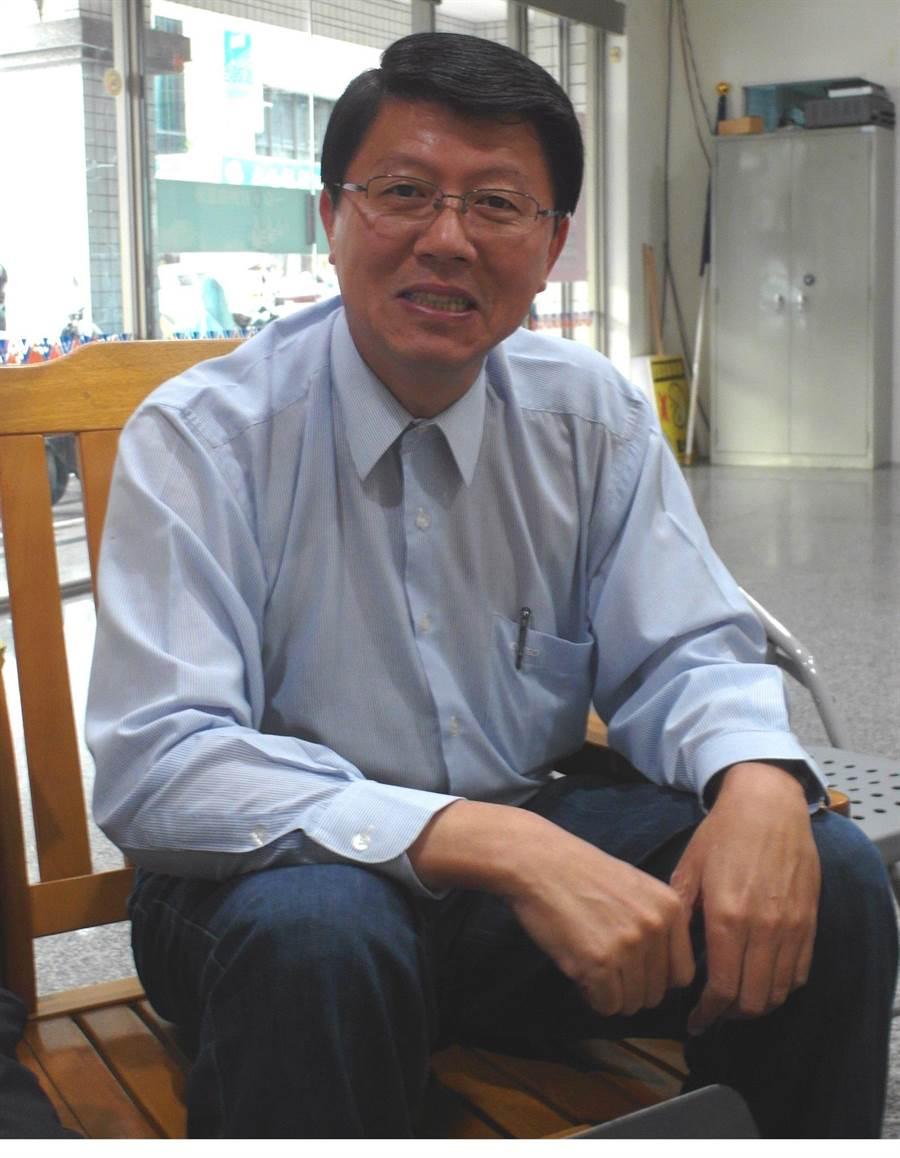 台南市議員謝龍介。(圖/洪榮志攝)