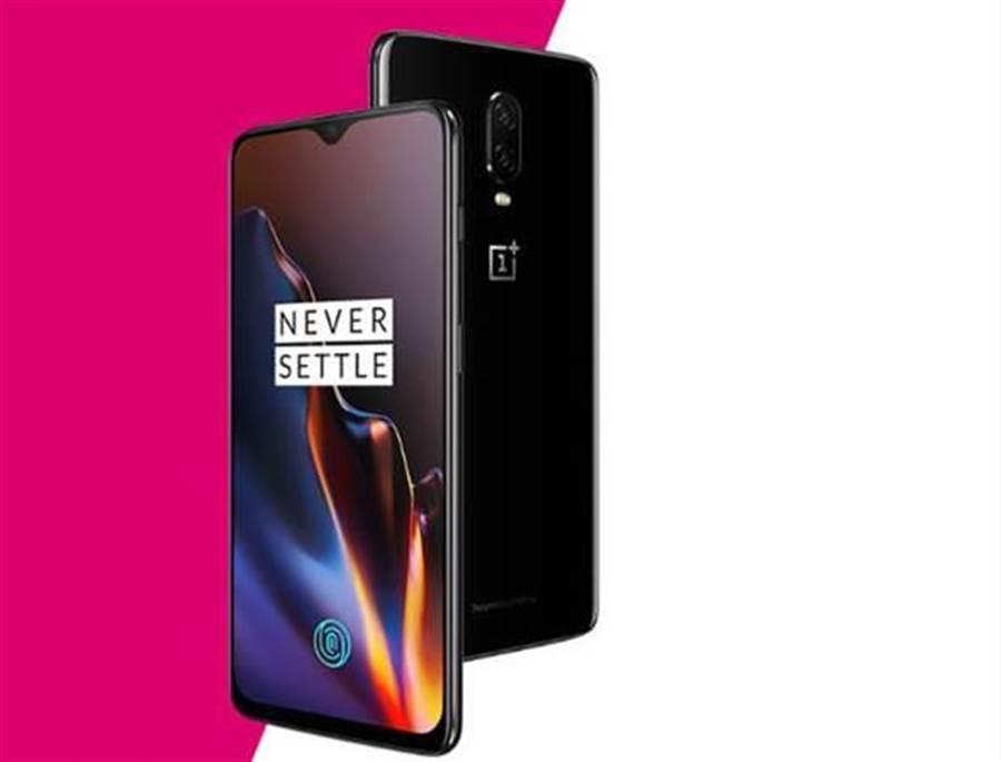 2018 年 10 月底發表的一加6T手機,性價比(C/P值)高屢獲好評。(圖/翻攝OnePlus官網)