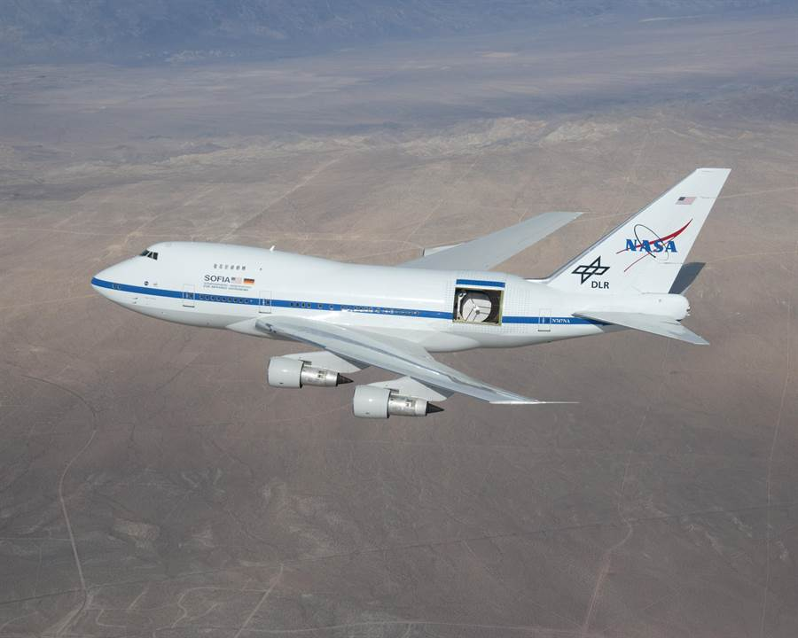 美國政府關門,NASA也受到嚴重波及,飛機天文台無法運作。(圖/NASA)