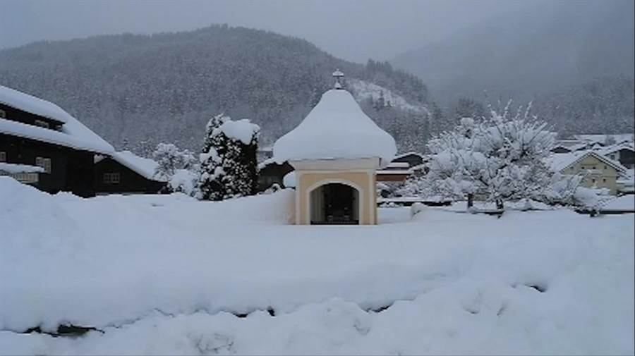 歐洲多個地區受到嚴寒暴雪侵襲