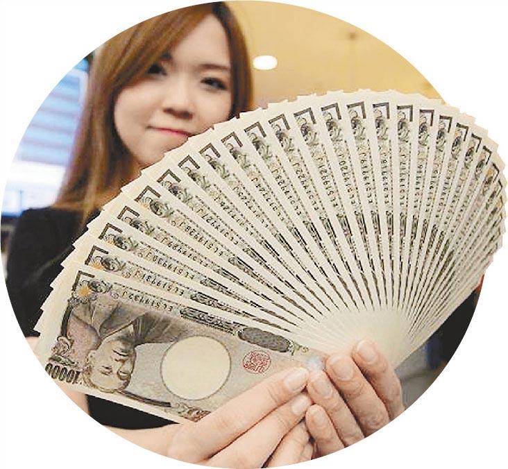台股大漲,新台幣卻只踱小步,日本三菱UFJ銀行公布最新報告,斷言日圓在2019年升值幅度超過新台幣,今年上半年會升到1台幣換3.5至3.8日圓。(本報資料照片)